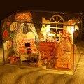 Sonho Princess Room G007 diy quarto casa de boneca móveis casa de bonecas em miniatura frete grátis