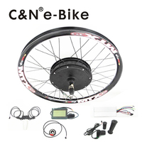For Electric Bike 70km H High Torque 1500w Wheel Motor Electric Bike Kit