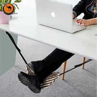 Fashion Indoor Light Portable Desk Foot Rest Hammock Aircraft Office Carry On Chair For Feet Moveis