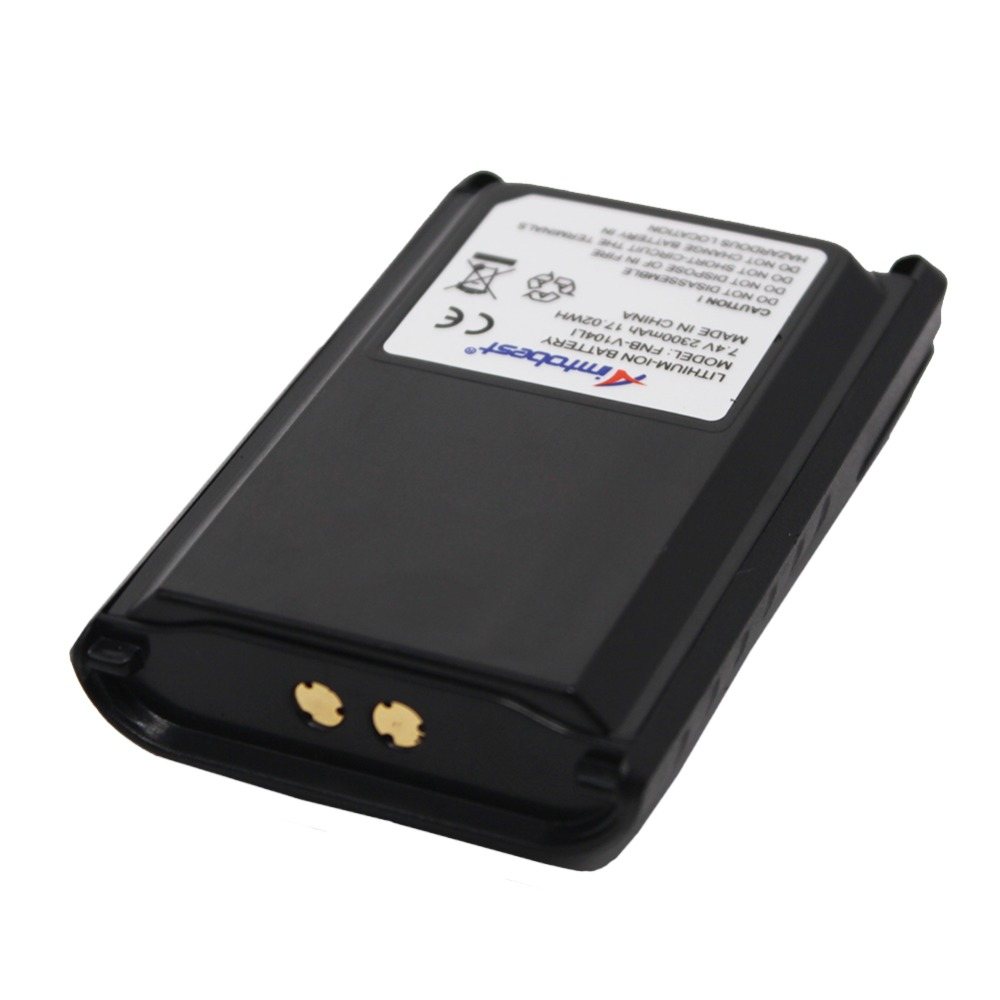 FNB-V104LI FNBV104 2300mAh Battery For Yaesu Vertex VX-230 VX-231 VX-234