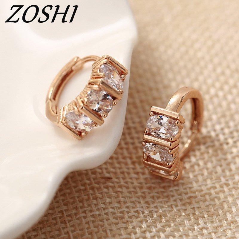 2018 Einzigartige Quadratische Piercing Huggie Hoop Ohrring Für Frauen Gold Ohrringe Runde Schmuck Pendientes Mujer Moda 2018