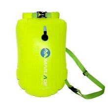 20л Открытый водонепроницаемый мешок сухой мешок надувные плавательные сумки для хранения флотационный буй рафтинг Каякинг воздуха речной треккинг сумки