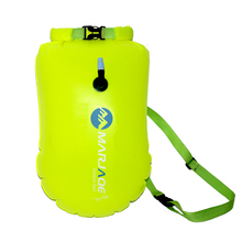 20L Outdoor Waterproof Bag Dry Inflatable Swimming Bags Storage Flotation Buoy Rafting Kayaking Air River Trekking