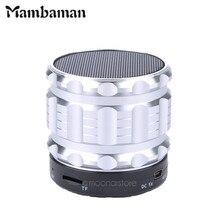 Mambaman S28 Portable Mini Bluetooth Speaker Wireless Super Bass Smart Speakers Handsfree With Mic FM Radio Support TF/SD Card