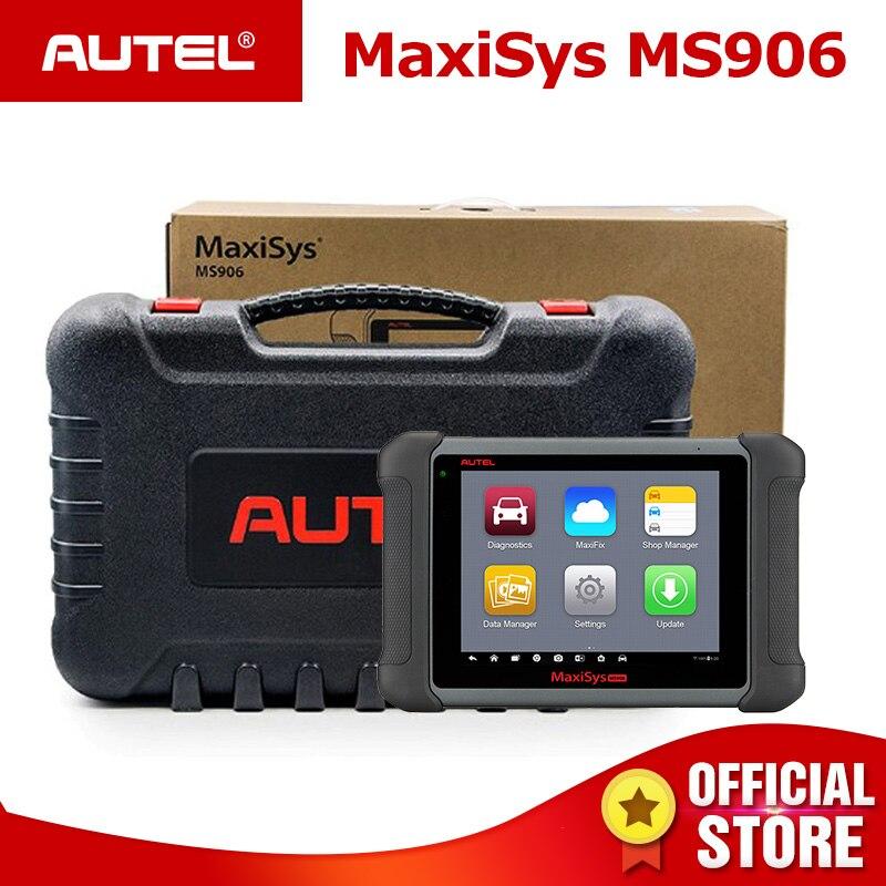 Autel MaxiSys MS906 автомобильный диагностический Системы мощный чем MaxiDAS DS708 и DS808 бесплатного обновления онлайн