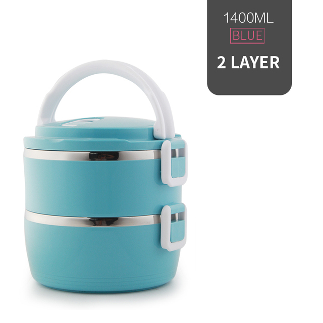 2 Layer Blue Cheap bento boxes 5c6479e2ef006