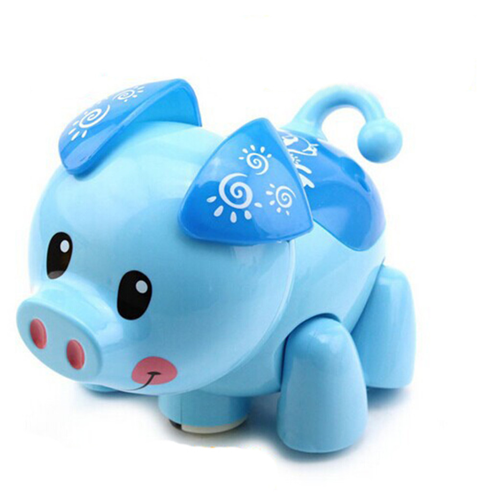Kid Fun Toy Christmas Gift Anti-stress Boy Girl Adult Cute Electric Music 3D Lighting Universal Pig Children Kid Educational Toy