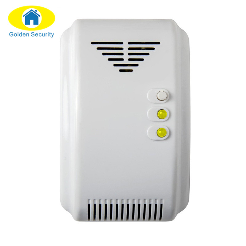 golden Security 433 Mhz Wireless fuel gas Sensor detector With Alarm System Leak Detector Work Wireless combustion Gas Detector