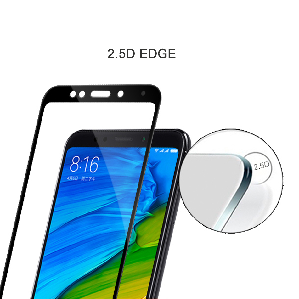 Image 3 - For Xiaomi Redmi 5 Plus Glass HD Clear Full Cover Screen Protector For Xiao mi Redmi Note 5 Pro Tempered Glass Protective Film-in Phone Screen Protectors from Cellphones & Telecommunications