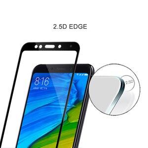 Image 3 - Voor Xiao Mi Rode Mi 5 Plus Glas Hd Clear Full Cover Screen Protector Voor Xiao Mi Rode Mi Note 5 Pro Gehard Glas Beschermende Film