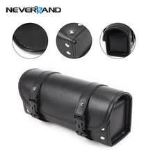 Neverland Black Motorcycle Tool Bag Luggage Saddle For Harley Softail Dyna Sportster Touring D25