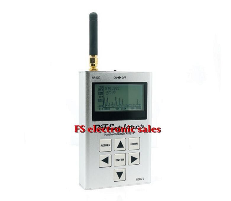RF Explorer Model USB Digital Spectrum Logic Analyzer Oscilloscope 112KHz-100MHz WSUB1G Handheld Digital Spectrum Analyzer