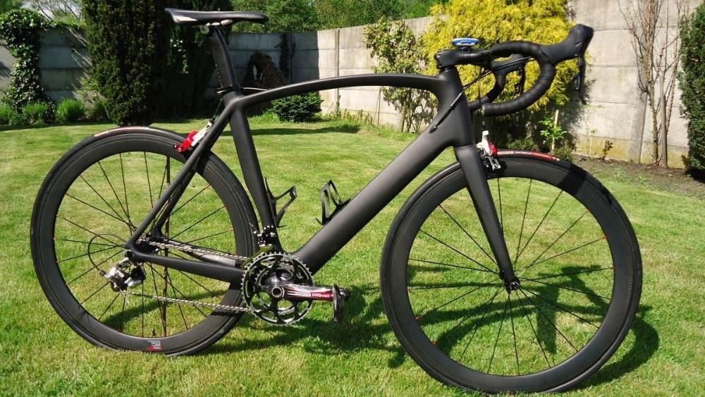 China Full Carbon Fiber Road Bike 6800 Group Set And Cheap