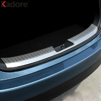 For Mazda 3 Axela Hatchback 5 Doors2014 2015 2016 Inner Tail Trunk Lid Protector Sills Step