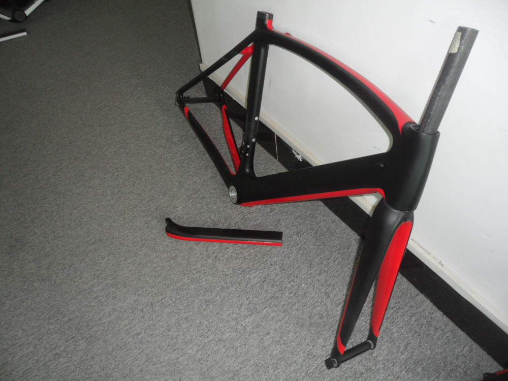 aliexpresscom buy 2016 chinese best di2 full carbon road racing road bicycle frame paint in black mattred glossy finish popular oem design fm098 from