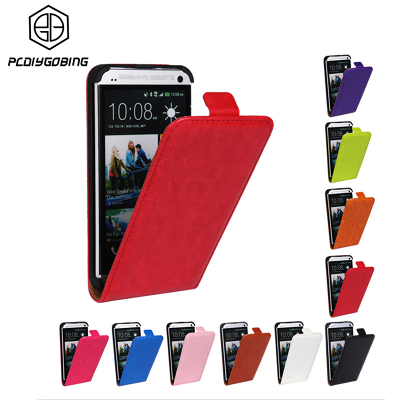Luxury Retro Color Top PU Leather Phone Fundas Magnetic Buckle Vertical flip Cover Case For HTC One M8 M9 X S M7 Single Sim Case
