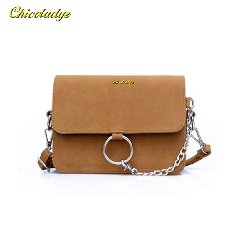 CCHICOLADYZ 2018 The dream leather pouch hung on the back of a shoulder strap woman's handbag with High quality satchels bolsa