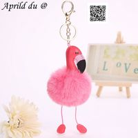 100pcs 25cm Kawaii Animal Flamingo Action Figure Plush doll cartoon penis style joke mashems chain adult funny toy