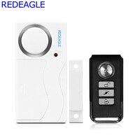 REDEAGLE Wireless-fenster Tür Magnetsensor Detektor Fernbedienung Eintrag Detektor Anti-Theft Für Home Security Alarm System