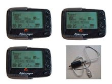 3 pc Alpha pager, PLL oder Kristall, frequenz 137-930 Mhz, 1 pc USB port ID programble kabel, wireless Pocsag paging-system empfänger(China)