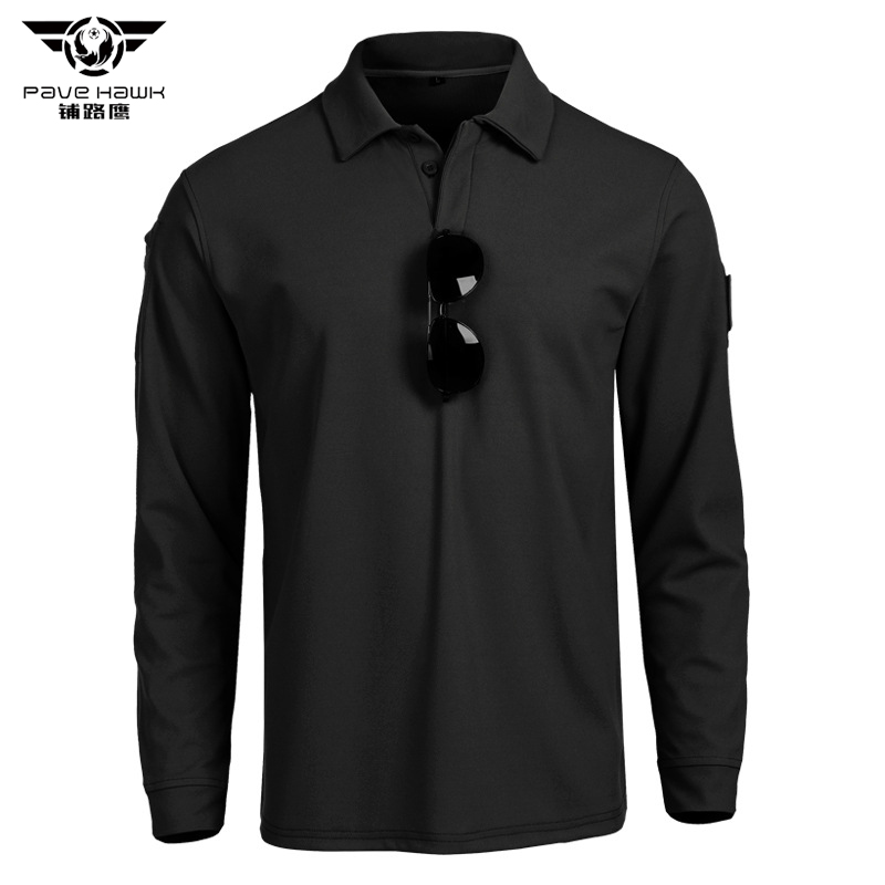 Quick Dry Summer   Polos   Mens   POLO   Shirts Long Sleeve Camisas   Polo   Casual Lapel Collar Male   Polo   Shirt Military Army Tactical 3XL