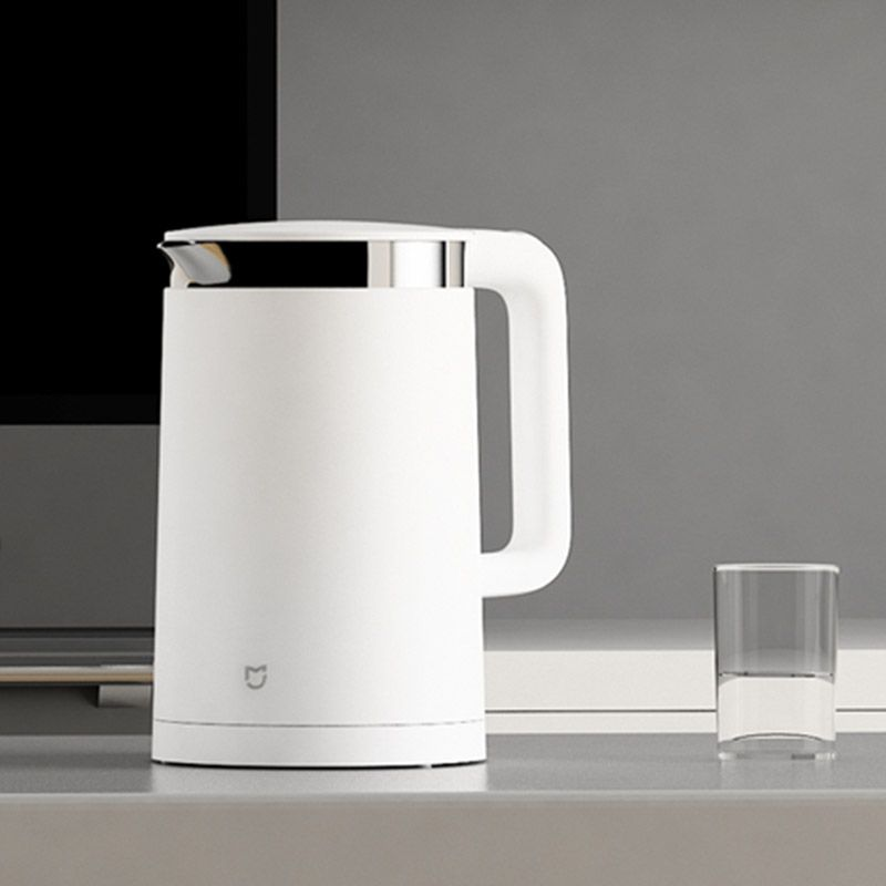 Xiaomi Mijia Thermostatic Electric Smart Kettles 12 Hours Thermostat kettle Smart home water bottle 1.5L bluetooth 4.0 パナソニック VL-SGZ30 モニター壁掛け式ワイヤレステレビドアホン