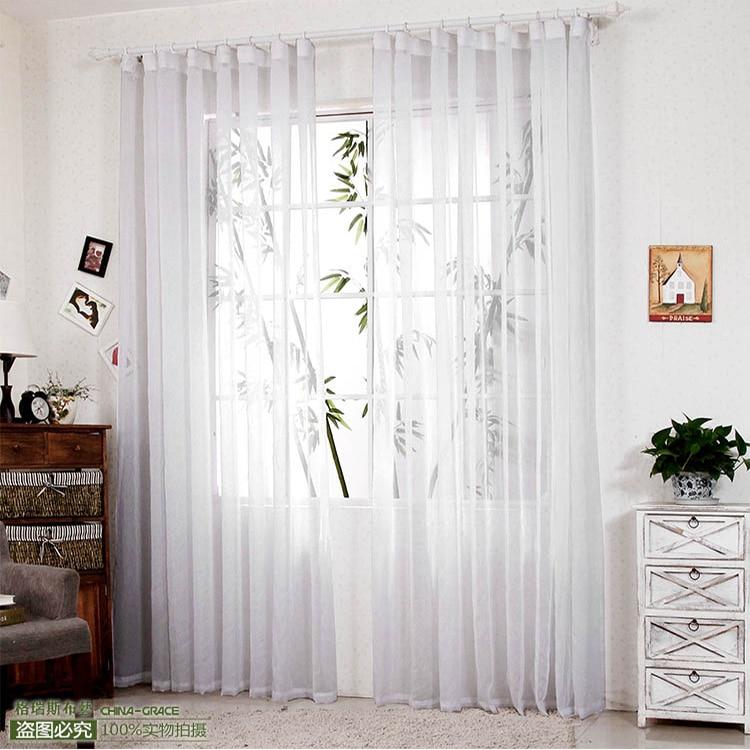 270 cm de alto caliente venta cortinas acabadas para for Cortinas blancas para sala