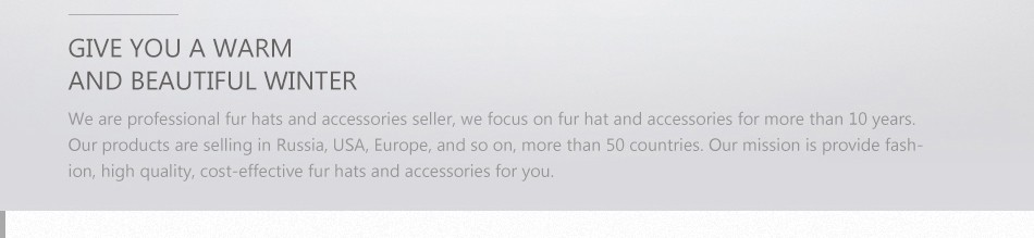 mink fur winter hats for women PCM028 (28)
