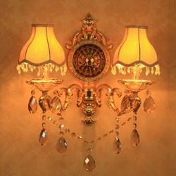 Lampy kryształowe ściany oprawa Lustre domu ozdobne oświetlenie LED obok ściany mouted lampy kinkiety ścienne nowoczesne lampy kryształowe ściany łazienka w Lampy ścienne od Lampy i oświetlenie na