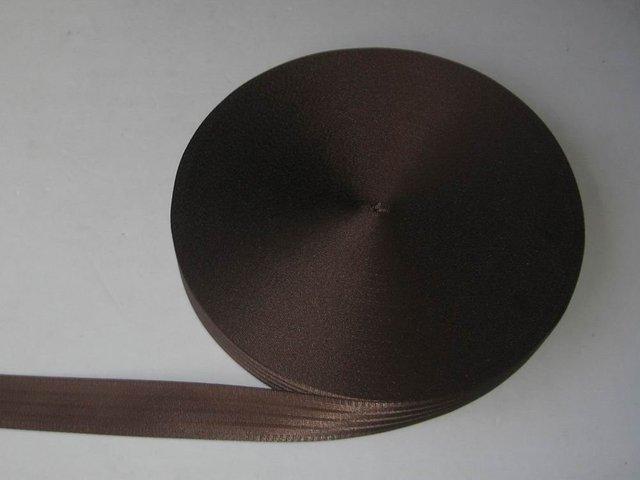 30 meter  ROLL 48mm wide SEAT BELT SAFETY STRAP WEBBING  BROWN 5 bar,