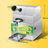 Electric Sugarcane Juicer Stainless Steel Sugarcane Juice Extractor Cane Juice Squeezer Cane Crusher Sugar Juicer SXC 80DC