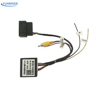 Hot RGB To AV CVBS Signal Converter Adapter Box For OEM Factory Rearview Backup Camera For