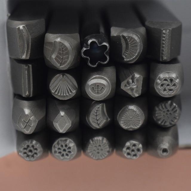 ImpressArt Metal Design Stamp 20pcs Steel Punch Tool For Jewelry Making