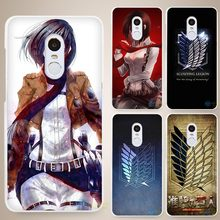 Attack On Titan Phone cases for Xiaomi Mi (20 styles)