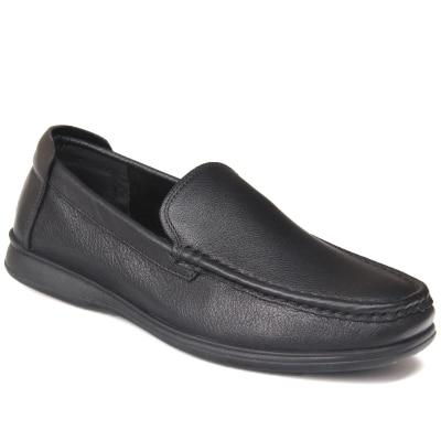 Et Moyen Automne Père Printemps Chaussures En Fond D'âge Cuir D'affaires Taille Décontractée As Mou Grande Hommes Pic 1 De Pédales xwSAn