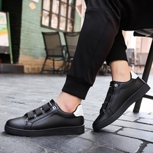 2018 new Men Shoes Breathable Comfortable  Leather Flats Spring Summer Fashion Casual 5