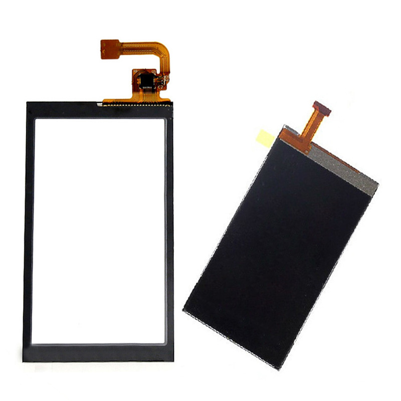 For Nokia X6 Touch Screen Digitizer Sensor Glass + LCD Display Screen Panel Monitor Replacement