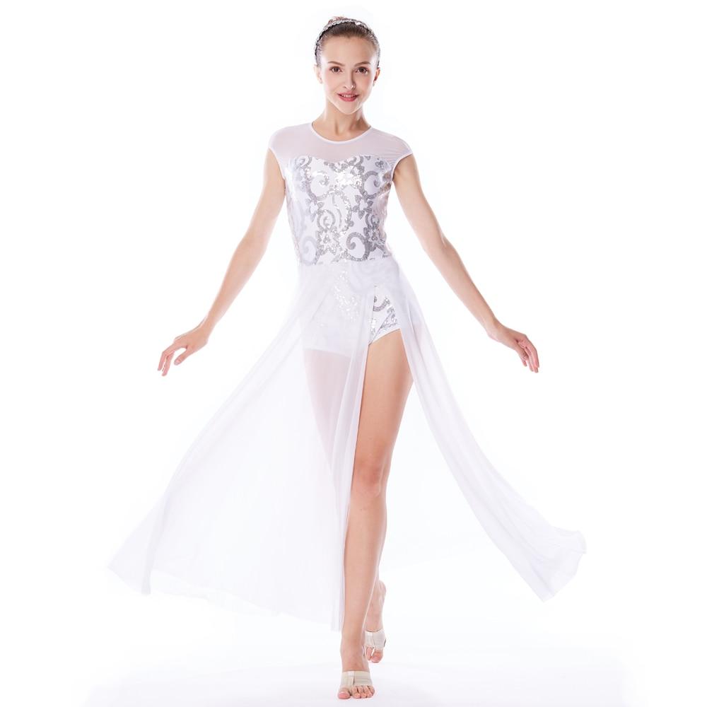 43af7736d56f MiDee Elegant Maxi Dress Lyrical Dance Costumes Modern Ballet Dance ...