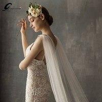 Elegant Wedding Accessories 3 Meters Vintage Wedding Veil White Ivory Crystal Bridal Veil With Comb Wedding Veil Hot Sale