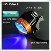 Jyrkior narzędzie do naprawy telefonu komórkowego klej uv lampa utwardzająca USB LED ultrafioletowy zielony olejek utwardzający fioletowe światło do naprawy płyty głównej w Zestawy narzędzi ręcznych od Narzędzia na