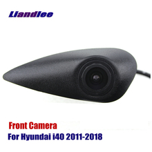 Liandlee AUTO CAM For Hyundai I40 2011-2018 2012 2015 Car Front View Logo Embedded ( Not Reverse Rear Parking Camera )