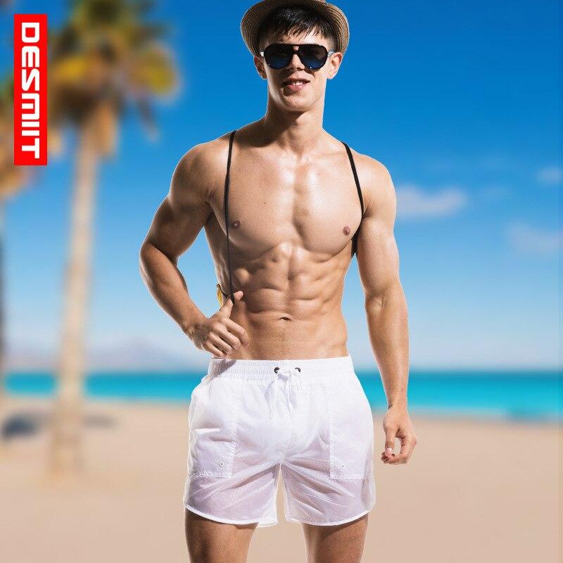 2018 Man Men's Swimwear Swim Beach Board shorts swim trunks Swimsuits Bathing Suits Men Swimming Boxer Surf Wear Gay недорго, оригинальная цена
