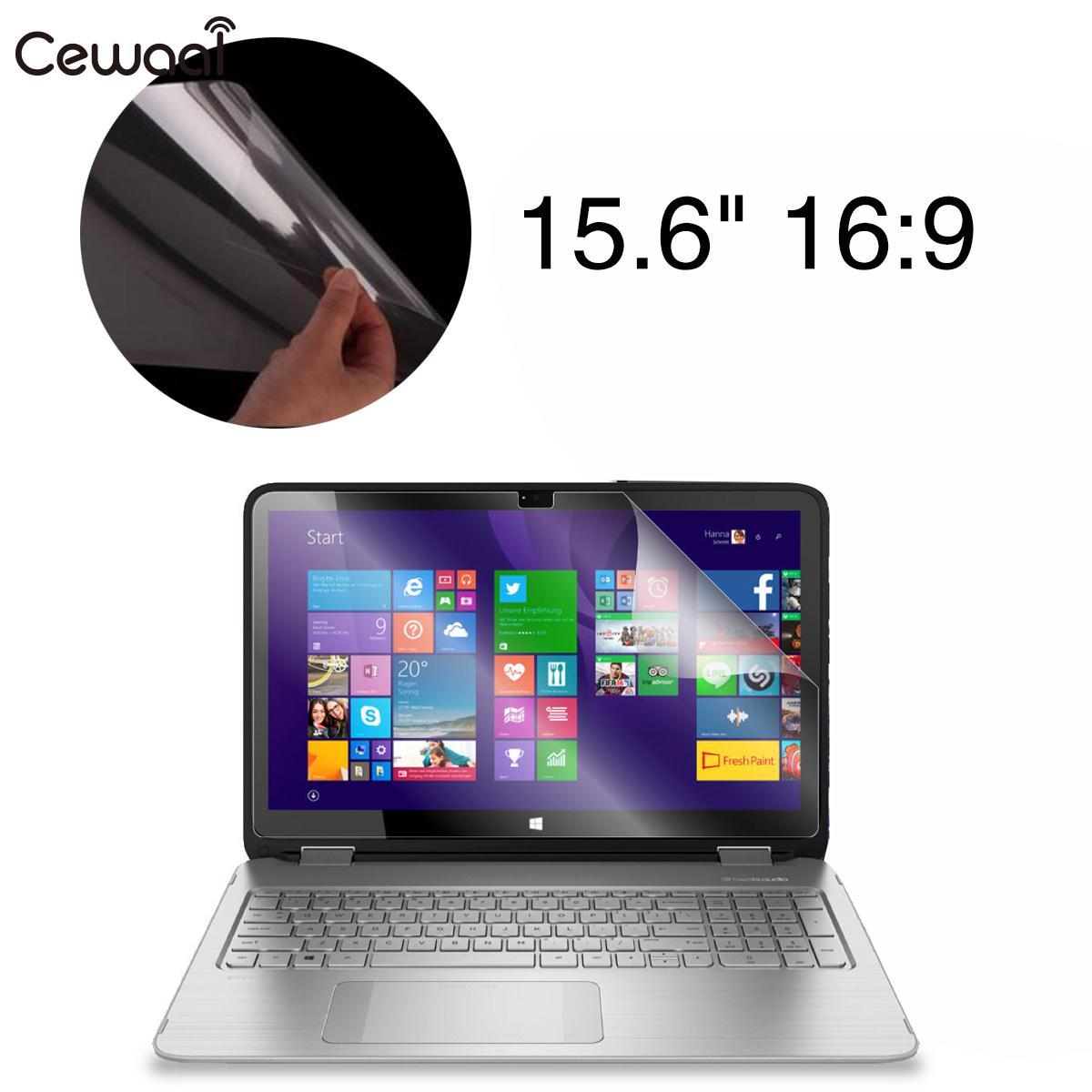 """Anti-Scratch 15.6/"""" 16:9 Laptop Notebook Screen Protector Film Cover Slim"""