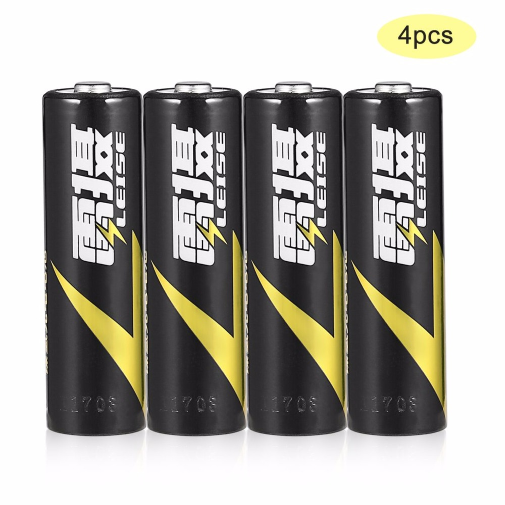 LEISE 1.2V AA 2500mAh Ni-MH Battery Environmentally Friendly Rechargeable Battery Low Consumption Battery Immediacy Black