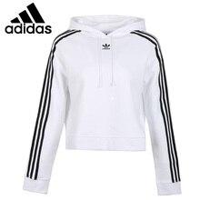 0437ec745486ea Original Neue Ankunft Adidas Originals CROPPED HOODIE frauen Pullover  Hoodies Sportswear