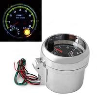 1 ADET Araba Göstergeler Takometreler Universal Araç Shift Işık Ile 0-8000 RPM Takometre Ölçer Yeni 12 V 3.75