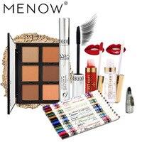 MENOW Brand Make Up Set 12 Pcs Eyeliner Pencil With Sharpener Amp Concealer Amp Lip Gloss