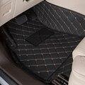 Car Foot Mats Case for Ford Focus Fiesta S-max Mondeo Edge Raptor Explorer Kuga Ecosport Carpets Floor Mats 3D Covered Fully