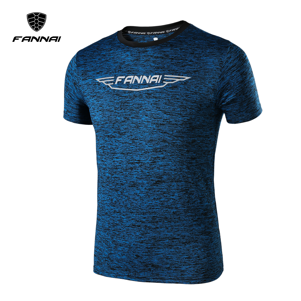 2018 Mens Sports Shirts Men Running Short Sleeves Training Exericise Perspiration wicking Tights Workout Fitness GYM T Shirt black hollow out round neck short sleeves t shirt