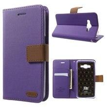 Для Galaxy J2 премьер Кожаные чехлы рев Корея бумажник кожаный флип стенд телефон Обложка для Samsung Galaxy J2 премьер G532F SM-G532F